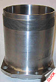 Cylinder Sleeve, shown with finished base flange